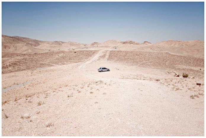Nel Deserto del Negev, in Israele (foto di Simone Giovanni Colombo/Falafel Cafè)